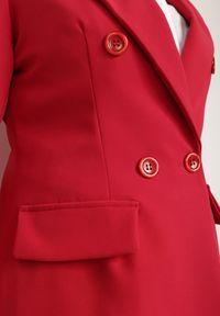 Renee - Czerwona Marynarka Cileia. Kolor: czerwony. Styl: glamour, klasyczny #5