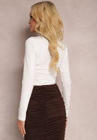 Renee - Białe Body Glorya. Kolor: biały. Długość: długie