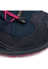 Niebieskie buty trekkingowe Lowa Gore-Tex, trekkingowe, z cholewką #8