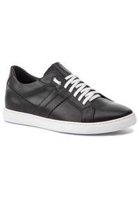 Czarne sneakersy Sergio Bardi z cholewką, na co dzień