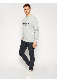 Pepe Jeans Bluza George 2 PM582008 Szary Regular Fit. Kolor: szary