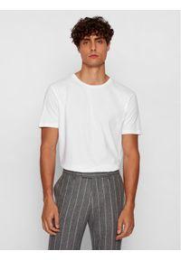 BOSS - Boss T-Shirt Lecco 80 50385281 Biały Regular Fit. Kolor: biały