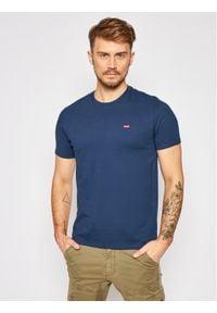 Levi's® T-Shirt The Original 56605-0017 Granatowy Regular Fit. Kolor: niebieski