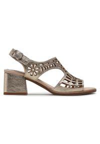 Złote sandały Callaghan