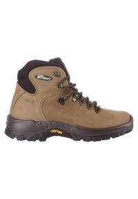 Buty Gri Sport Hikking Plus 10303. Materiał: nubuk. Sezon: zima. Sport: wspinaczka