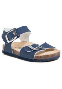 Primigi - Sandały PRIMIGI - 5425000 M Blue. Kolor: niebieski. Materiał: skóra, skóra ekologiczna. Sezon: lato