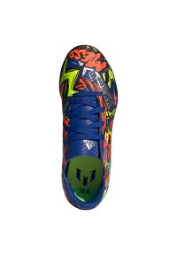 Adidas - Buty piłkarskie dla dzieci adidas Nemeziz Messi 19.4 TF Jr EH0602. Zapięcie: sznurówki. Materiał: guma, syntetyk, materiał. Szerokość cholewki: normalna. Sport: piłka nożna