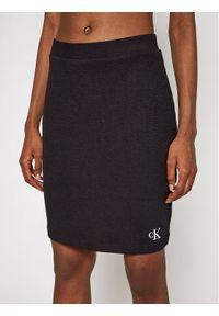 Czarna spódnica mini Calvin Klein Jeans