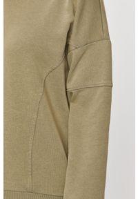 Zielona bluza only z długim rękawem, casualowa, długa