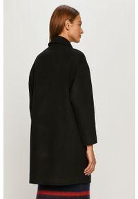 Czarny płaszcz Patrizia Pepe klasyczny, bez kaptura