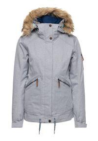 Szara kurtka zimowa Roxy