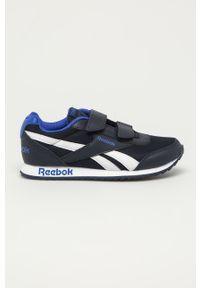 Niebieskie buty sportowe Reebok Classic z cholewką, Reebok Classic