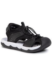 Czarne sandały Sprandi