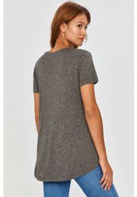 Szara bluzka Answear Lab wakacyjna, melanż, na co dzień