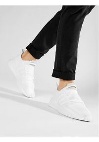 Adidas - adidas Buty U Path Run G27637 Biały. Kolor: biały. Sport: bieganie