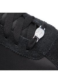 Czarne buty sportowe Nike Nike Cortez, na co dzień, z cholewką