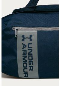 Niebieska torba podróżna Under Armour sportowa