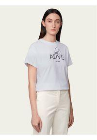 Biały t-shirt BOSS