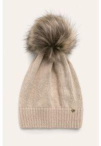 Beżowa czapka Jamiks