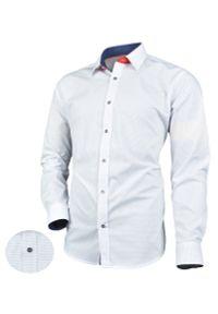 Elegancka koszula Victorio z długim rękawem, z aplikacjami, długa