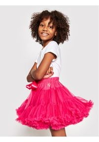 LaVashka Spódnica 2 D Różowy Regular Fit. Kolor: różowy