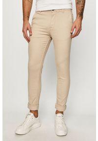 Beżowe spodnie Selected
