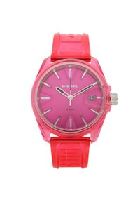 Różowy zegarek Diesel