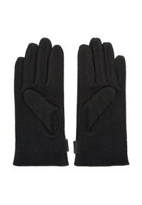 Czarne rękawiczki Wittchen na zimę, eleganckie