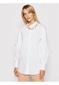 Imperial Koszula CJM0BBE Biały Regular Fit. Kolor: biały