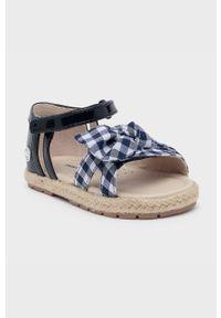 Niebieskie sandały Mayoral na rzepy