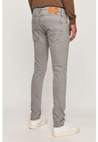 Szare jeansy Levi's® w kolorowe wzory, na spotkanie biznesowe