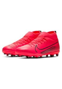 Buty piłkarskie dla dzieci Nike Mercurial Superfly 7 Club MG AT8150. Materiał: syntetyk, skóra. Szerokość cholewki: normalna. Sport: piłka nożna