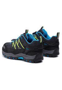 Niebieskie buty trekkingowe CMP z cholewką