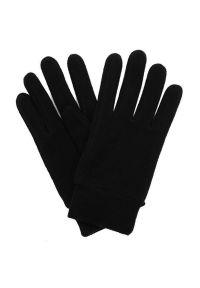 Czarne rękawiczki Pako Jeans na zimę, eleganckie