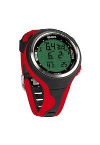 Czerwony zegarek MARES sportowy, cyfrowy