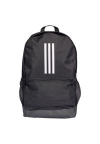 Adidas - Plecak adidas Tiro DQ1083 Prom. Materiał: tkanina, poliester. Wzór: ze splotem. Styl: casual