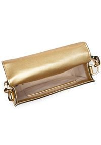 Złota torebka Lauren Ralph Lauren
