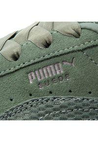 Zielone buty sportowe Puma Puma Suede