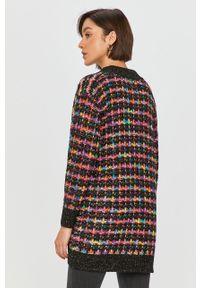 Wielokolorowy sweter rozpinany Desigual casualowy, z długim rękawem, na co dzień