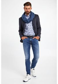 JOOP! Jeans - SZAL LAMAR JOOP! COLLECTION. Materiał: materiał. Styl: klasyczny
