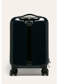 Niebieska walizka Emporio Armani