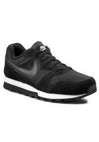 Czarne półbuty casual Nike z cholewką