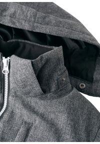Czarna kurtka bonprix melanż, na zimę