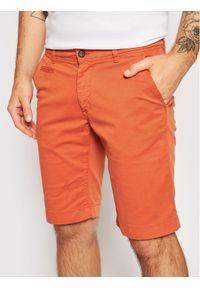 Baldessarini Szorty materiałowe Jorg B1 16938/000/2204 Pomarańczowy Regular Fit. Kolor: pomarańczowy. Materiał: materiał