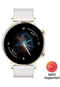 Biały zegarek HUAWEI smartwatch, sportowy
