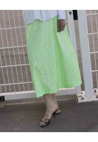 SAKS POTTS - Zielona spódnica Cobra. Kolor: zielony. Materiał: materiał