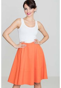 Pomarańczowa spódnica Katrus