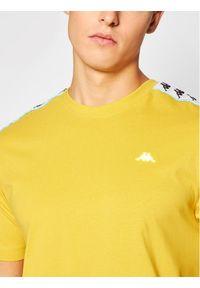 Kappa T-Shirt Hanno 308011 Żółty Regular Fit. Kolor: żółty #5