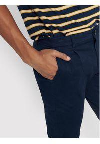 Only & Sons - ONLY & SONS Spodnie materiałowe Cam 22016775 Granatowy Regular Fit. Kolor: niebieski. Materiał: materiał #3
