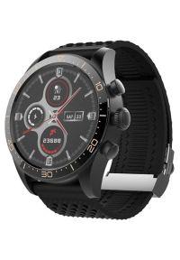 Czarny zegarek FOREVER elegancki, smartwatch